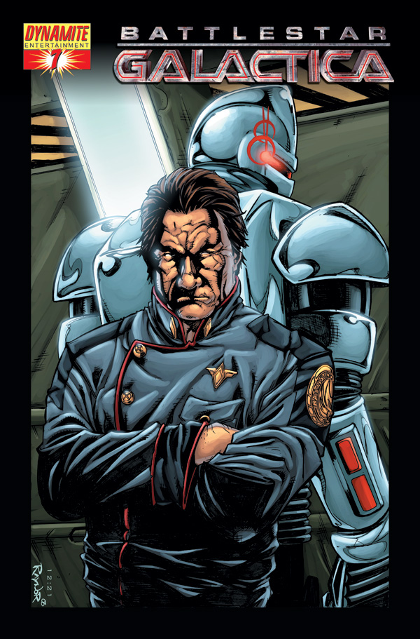 Starbuck Battlestar Galactica >> Dynamite® New Battlestar Galactica #7