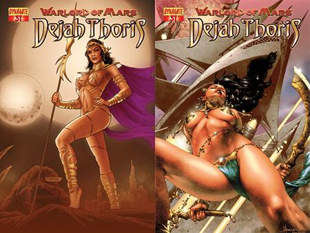 Erotic science fiction comics