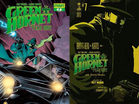 Green Hornet #1 1:20 Carli Ihde Cover F Black /& White Variant Dynamite Comic NM
