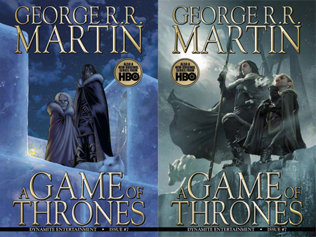 A GAME OF THRONES Tome 07
