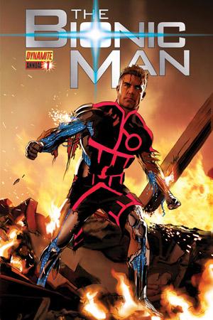 Dynamite 174 The Bionic Man Annual 1