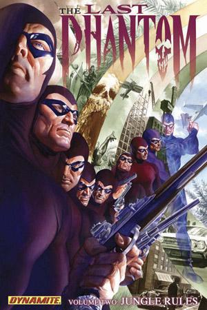 The Last Phantom Volume 2: Jungle Rules TP Scott Beatty, Eduardo Ferigato and Johnny Desjardins