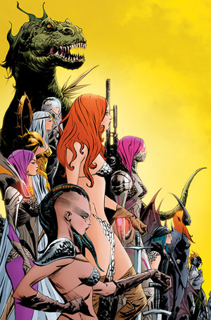 A-F Vampirella Deja Thoris #3 set of 6 covers !!