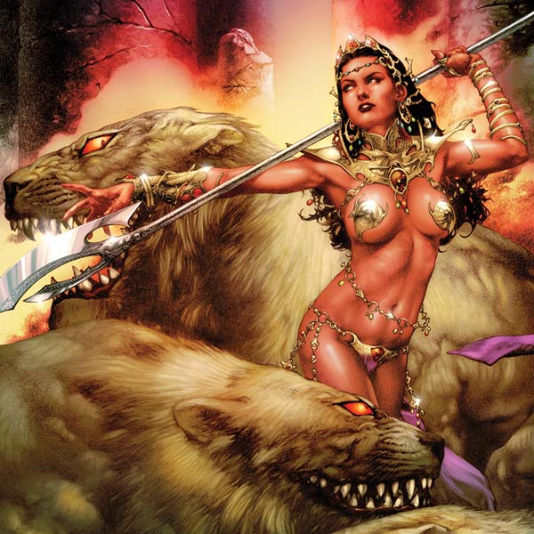 Emerald City Comicon Announcement: Dynamite Entertainment Invites You To Celebrate Three Of Comics' Greatest Heroines — Red Sonja, Vampirella, And  Dejah Thoris — All-year Long With 2017 Wall Calendars