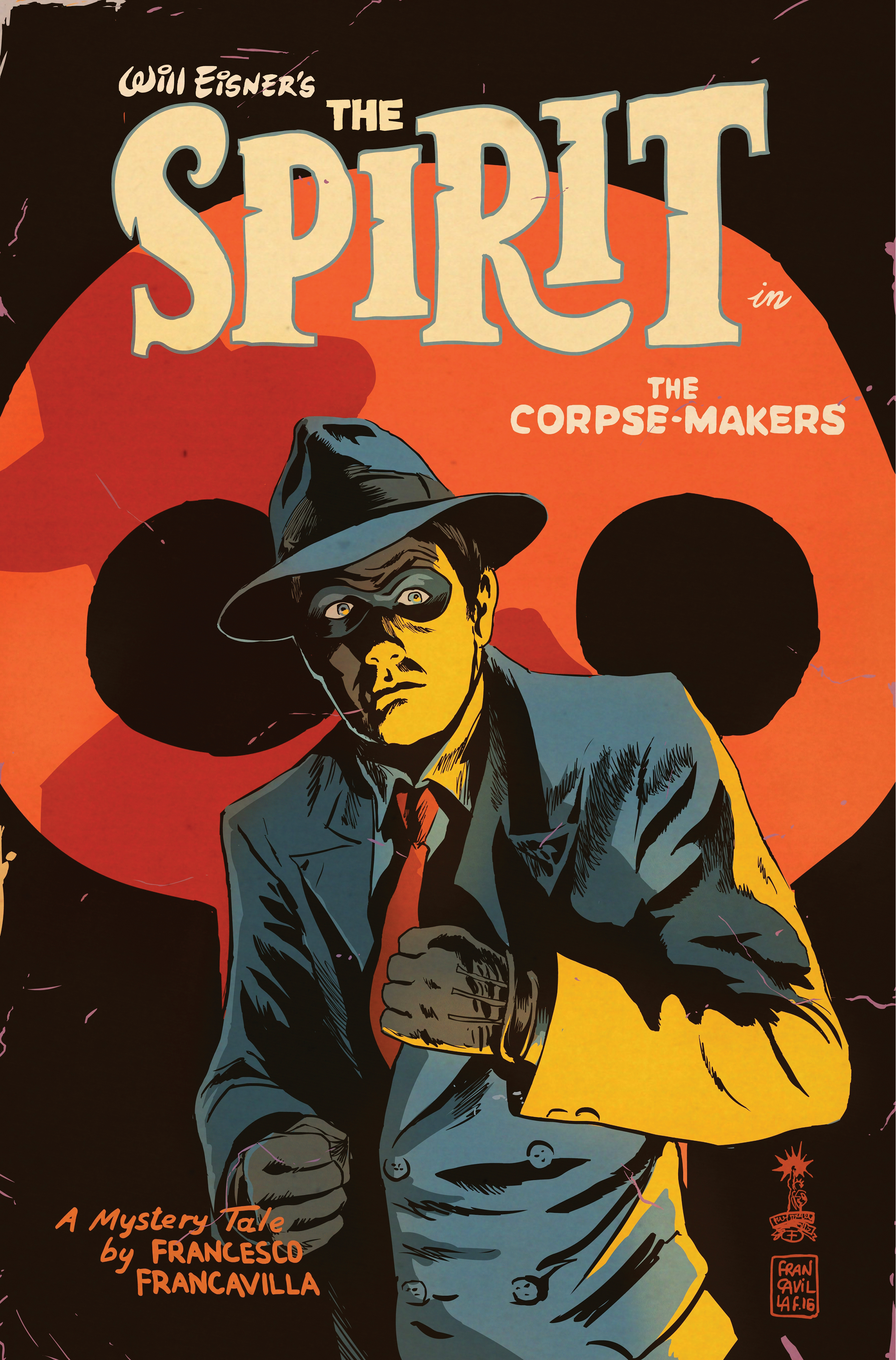 NYCC ANNOUNCEMENT: PULP COMICS SUPERSTAR FRANCESCO FRANCAVILLA WRITES AND DRAWS WILL EISNER'S THE SPIRIT