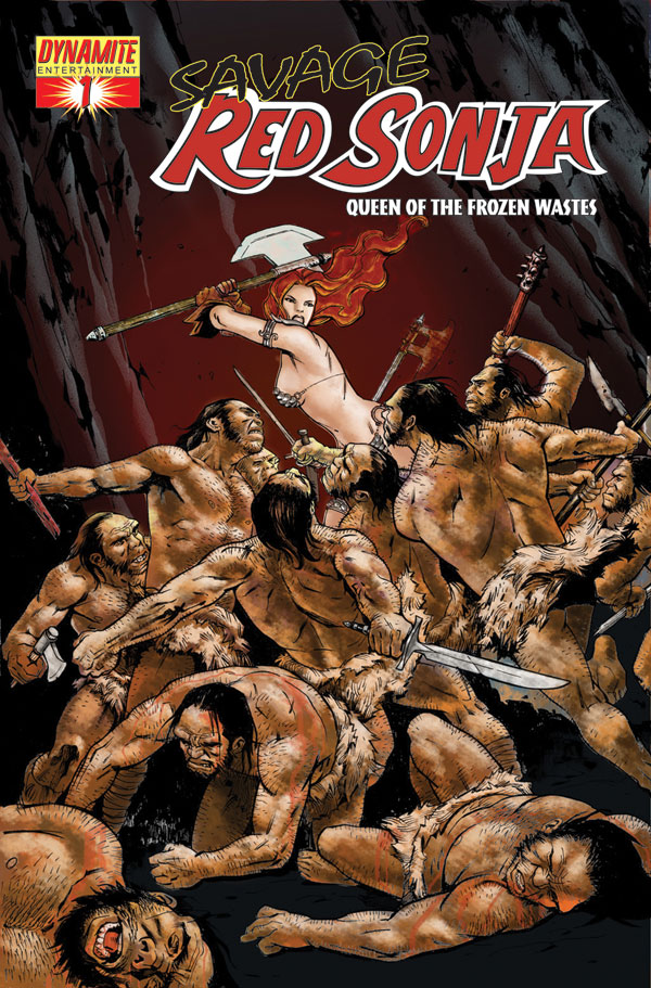 Dynamite 174 Savage Red Sonja Queen Of The Frozen Wastes 1