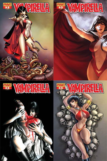 VAMPIRELLA 23 A VOL.1 DYNAMITE COMIC PAUL RENAUD JERWA MICHAEL LOPES 2012 NM