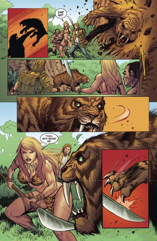 i will call her_Dynamite® Jungle Girl Season 2 Oversized Hardcover