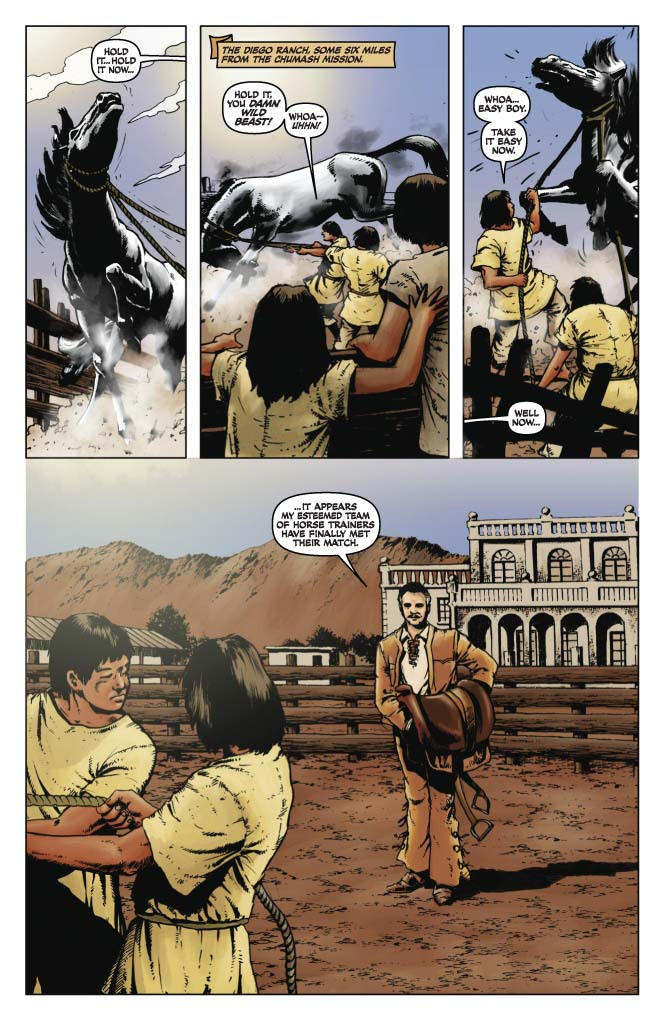 dynamite174 the lone ranger death of zorro tpb