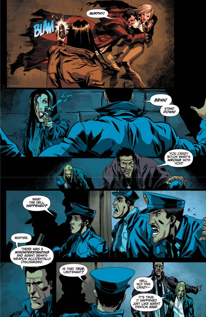 Dynamite® Jim Butcher's Dresden Files: Fool Moon Vol 1 Hc
