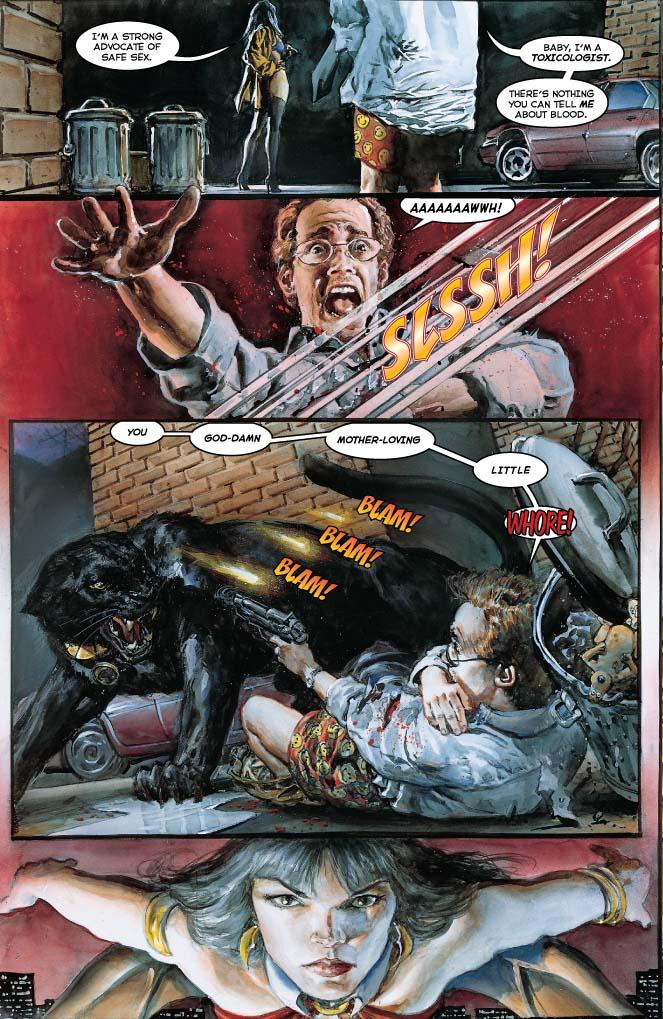 Dynamite 174 Vampirella Masters Series Vol 7 Pantha Tp