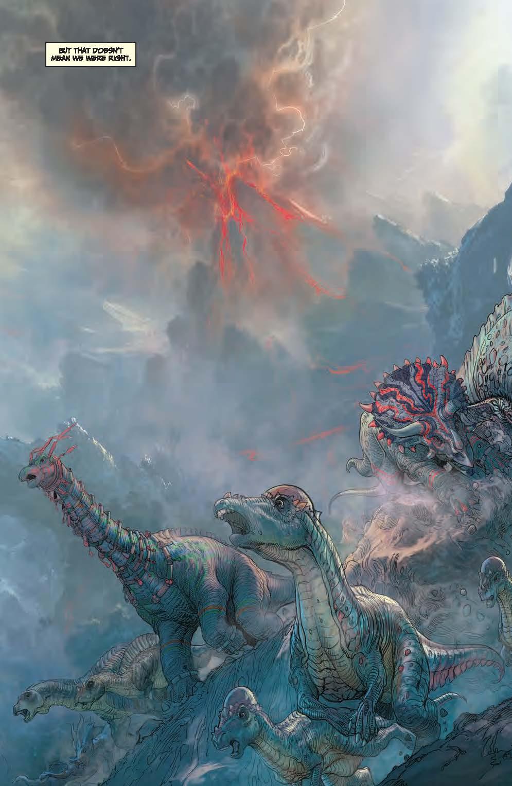 Dynamite® Barry Sonnenfeld's Dinosaurs Vs. Aliens Hc