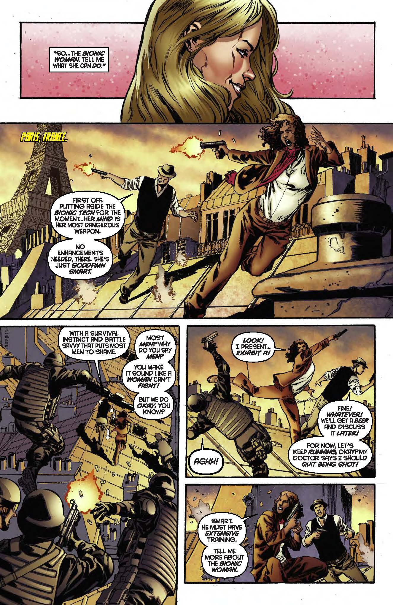 Dynamite® The Bionic Woman Vol 1: Mission Control Tpb