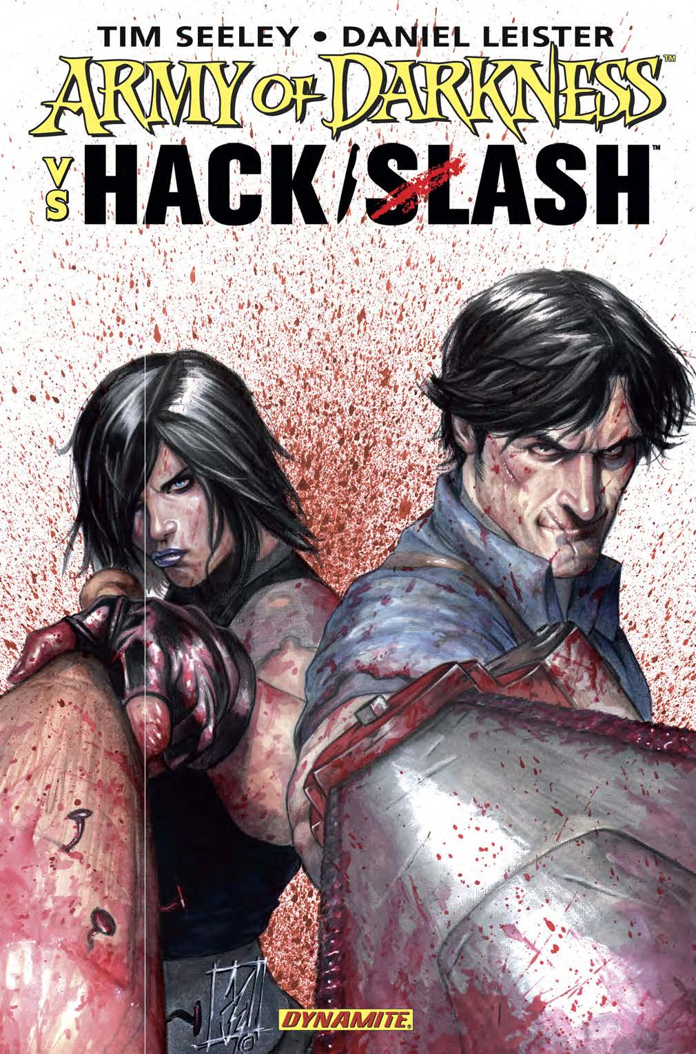 Dynamite® Army Of Darkness Vs  Hack/Slash Tpb