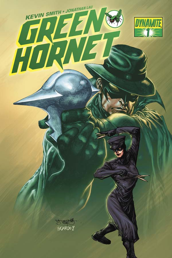 Dynamite® Kevin Smith's Green Hornet #1