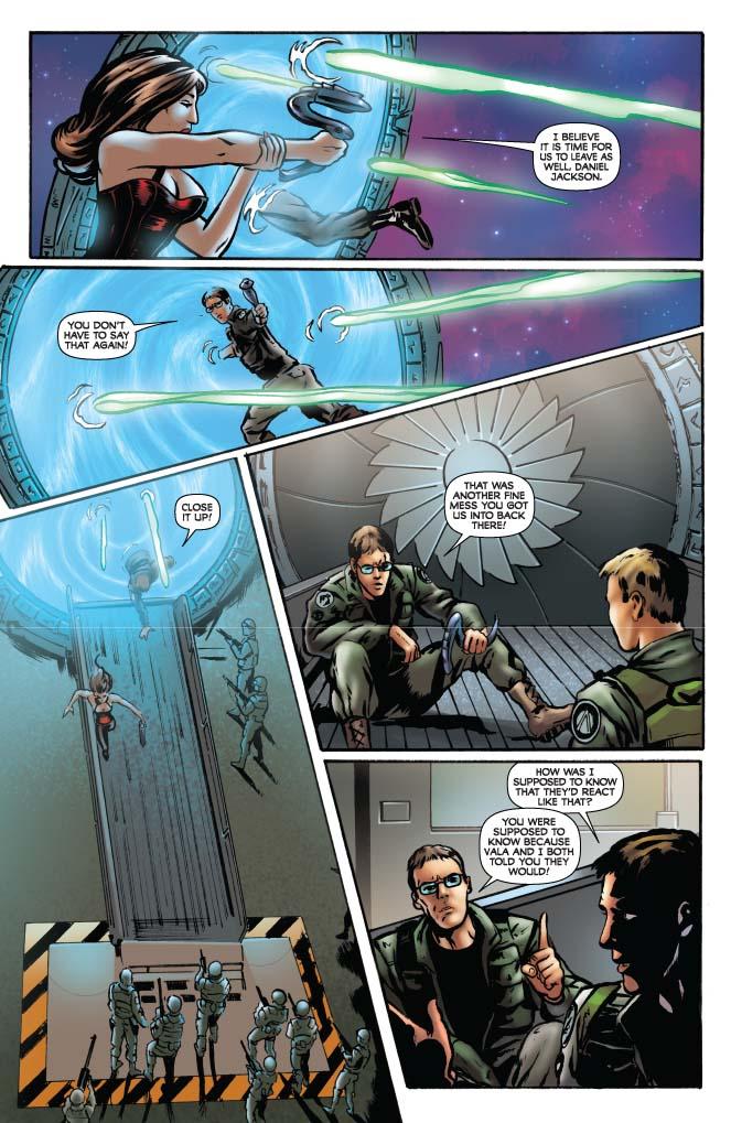 Dynamite® Stargate: Daniel Jackson #1