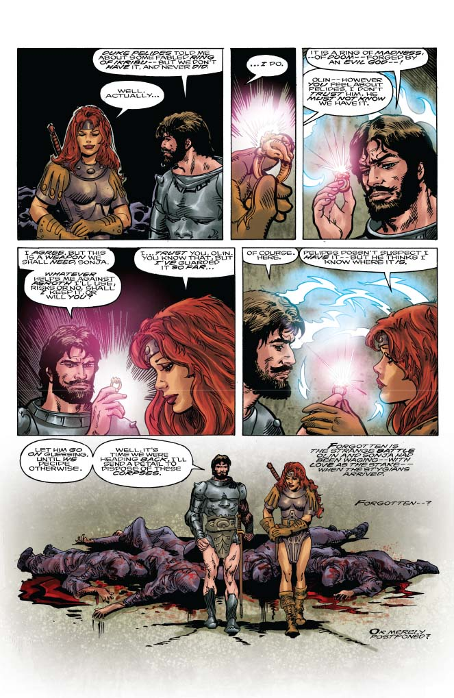 Dynamite 174 Classic Red Sonja Remastered 3