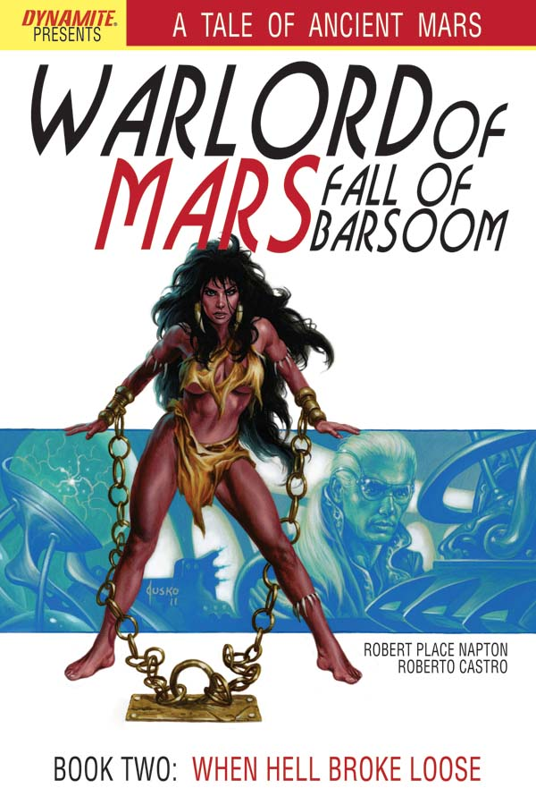 Dynamite 174 Warlord Of Mars Fall Of Barsoom 2