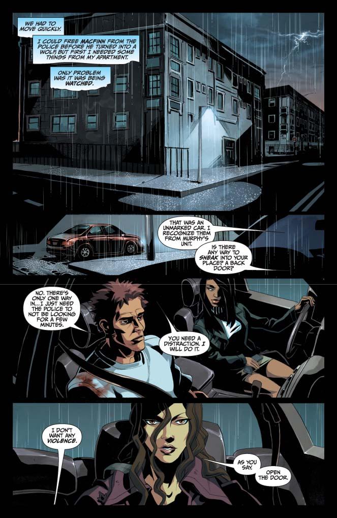 Dynamite® Jim Butcher's Dresden Files: Fool Moon #5 (Of 8)