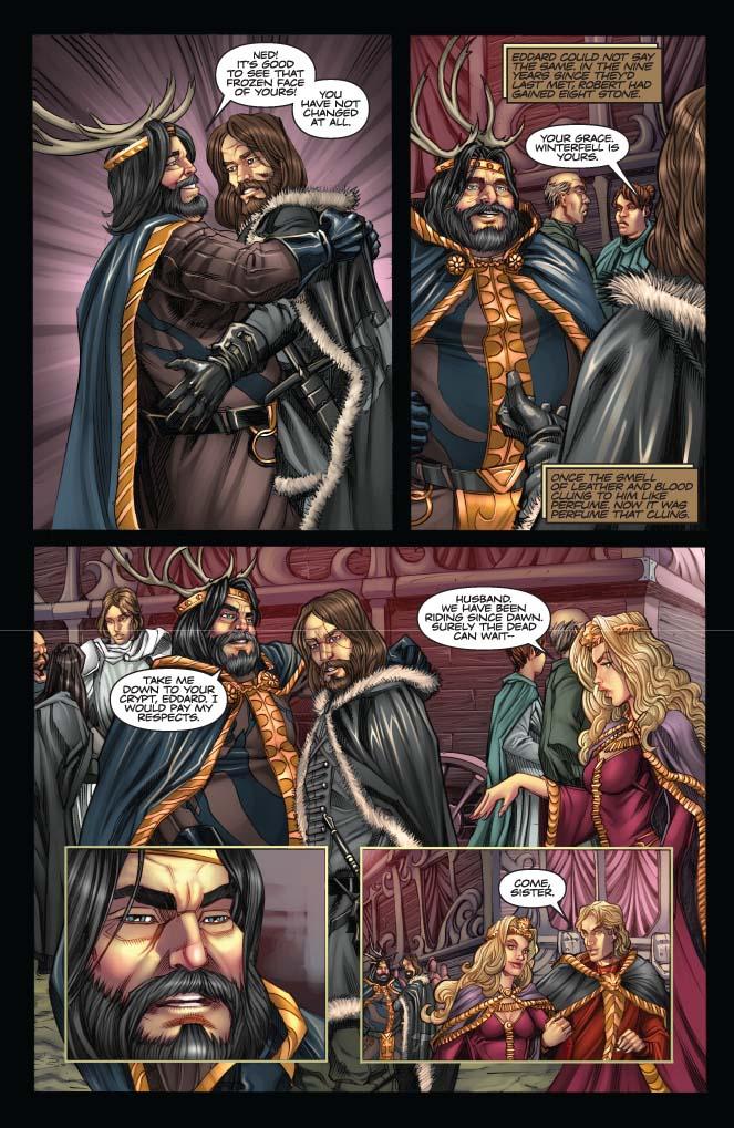 Game of thrones porn comic