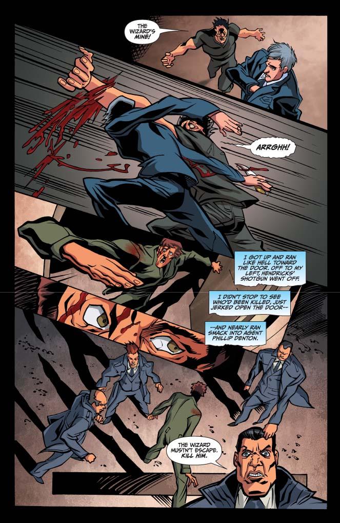Dynamite 174 Jim Butcher S Dresden Files Fool Moon 7