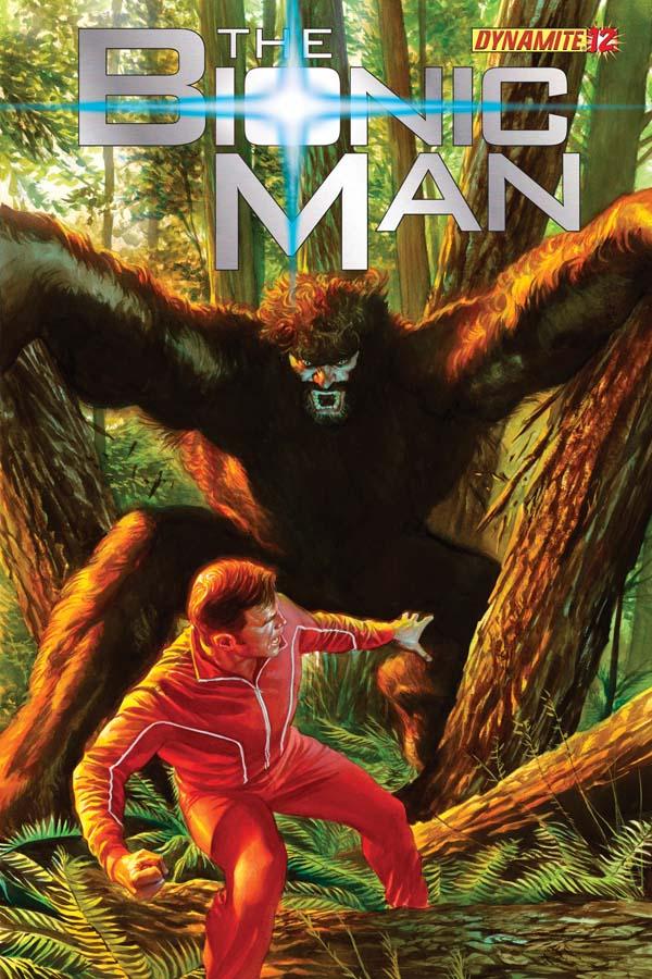 Dynamite® The Bionic Man #12