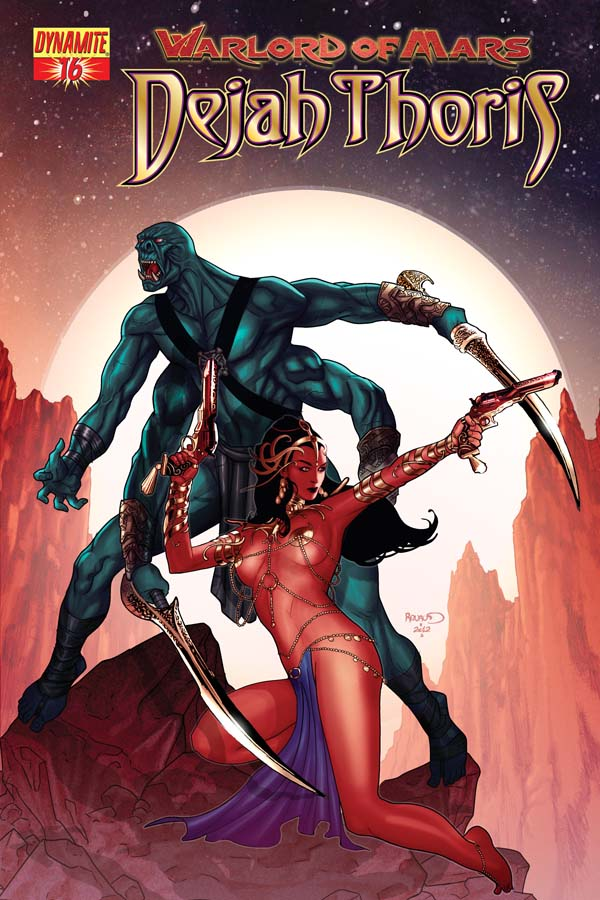 Dynamite 174 Warlord Of Mars Dejah Thoris 16