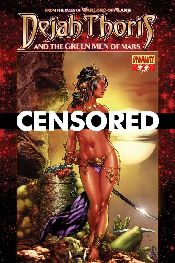Dynamite 174 Dejah Thoris And The Green Men Of Mars 2 Of 12