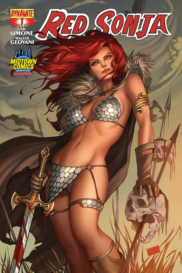 Red Sonja Sanctuary #1 One-Shot Variant Cover  Dynamite Comics CB7990