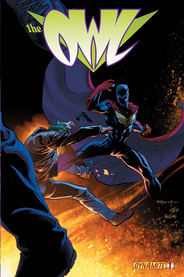 Image result for dynamite comics the owl