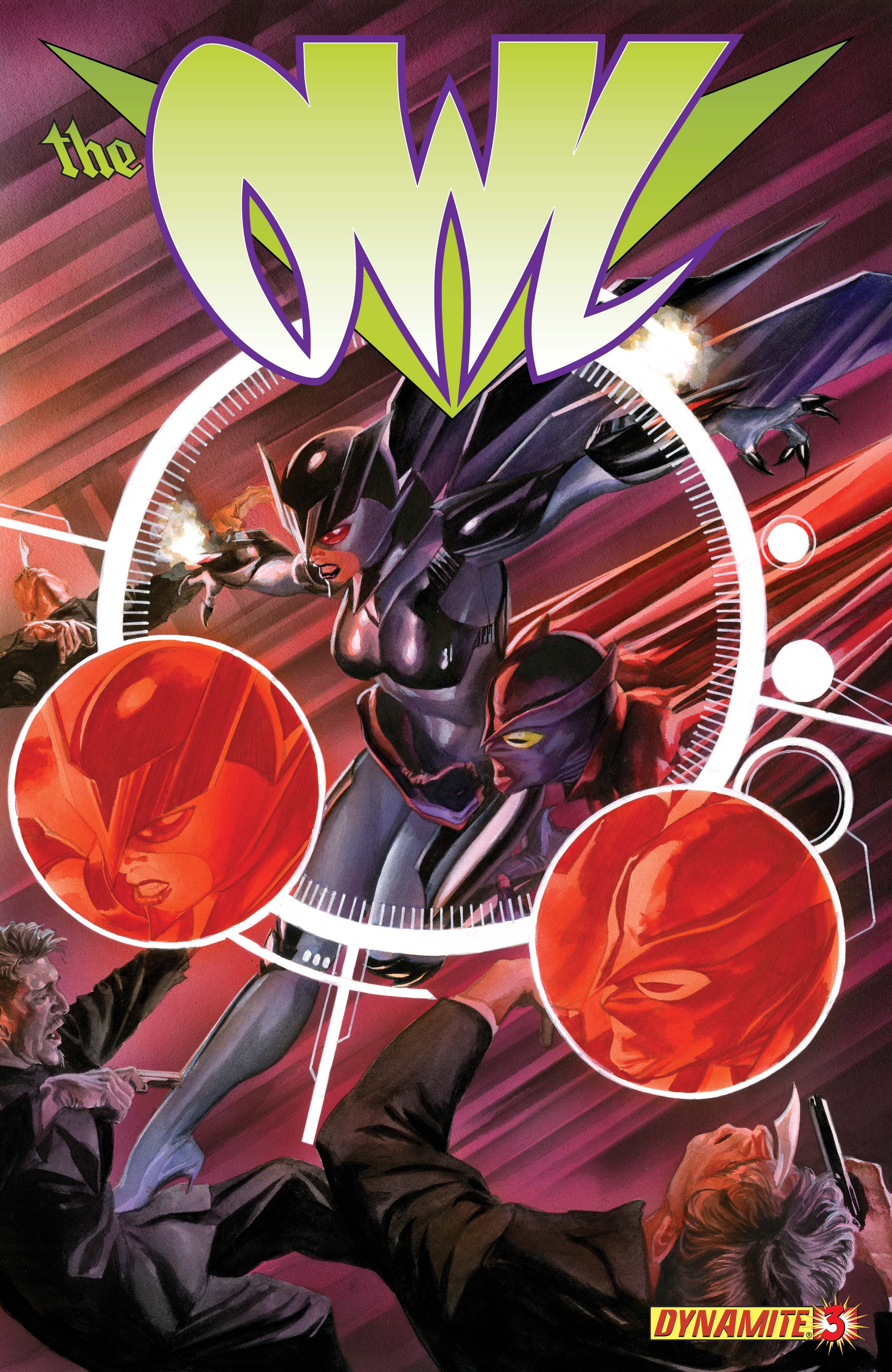 Dynamite® The Owl #3 (Of 4)
