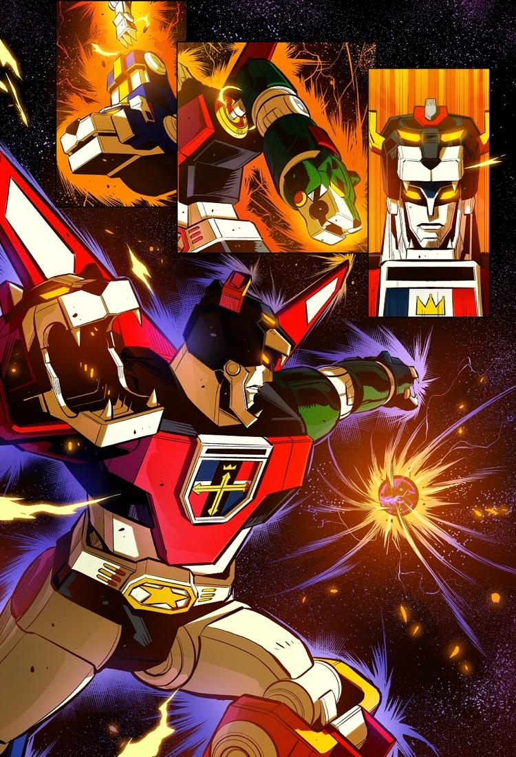 Dynamite® Robotech/Voltron #1 (Of 5)