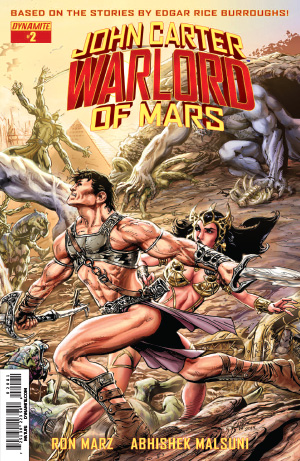 Side By Side For Sale >> Dynamite® John Carter: Warlord Of Mars #2