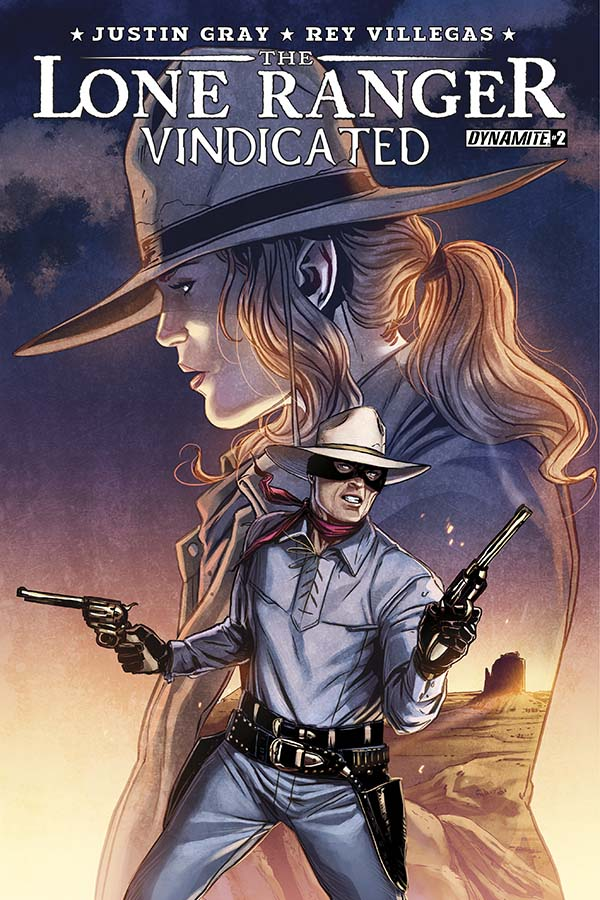 Dynamite® The Lone Ranger: Vindicated #2 (Of 4