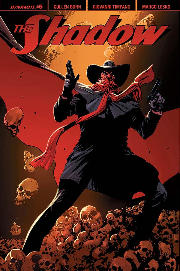 The Shadow #5 Incentive Variant Dynamite Comics CB13235