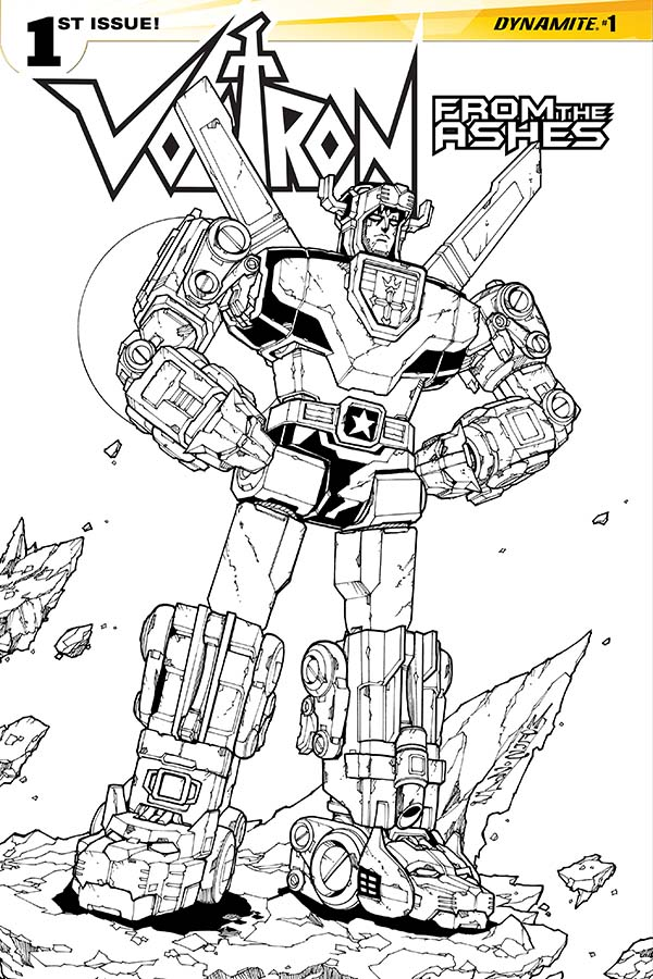 Dynamite Voltron From The Ashes
