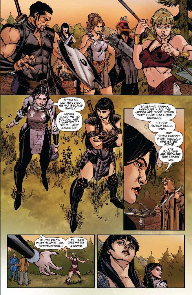 Dynamite® Xena: Warrior Princess #4