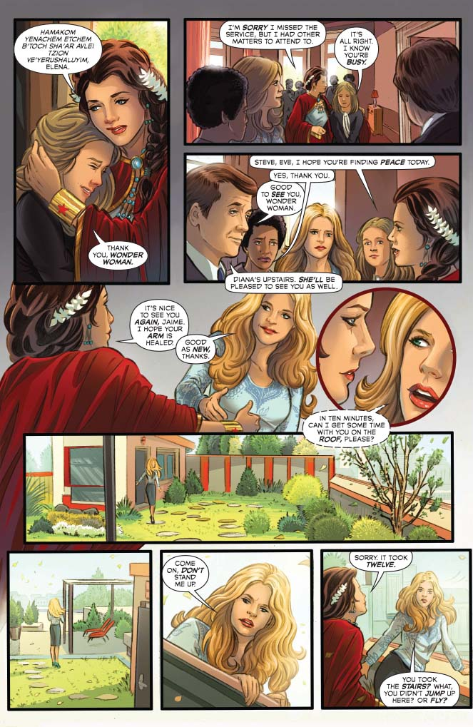 Best Brother Ever: Dynamite® Wonder Woman '77 Meets Bionic Woman #2 (Of 6