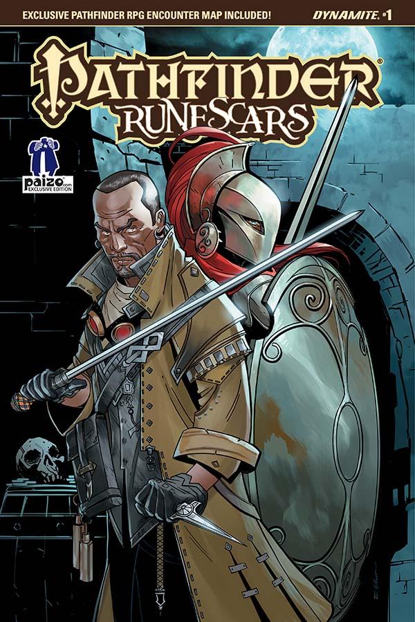 Dynamite® Pathfinder: Runescars #1