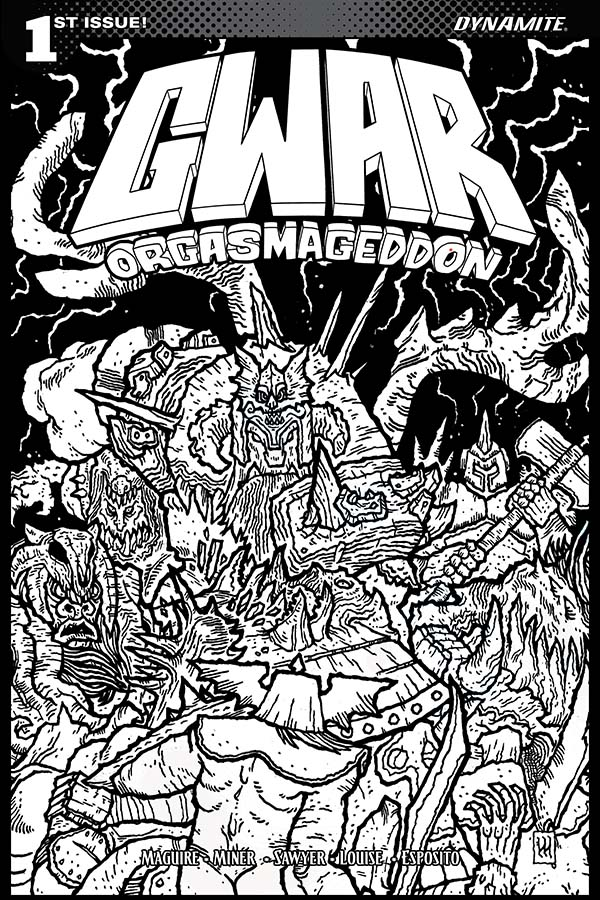 heavy metal band coloring pages - photo#8