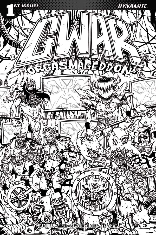 heavy metal band coloring pages - photo#10