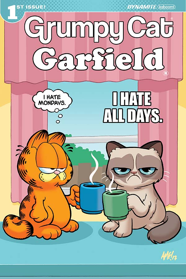 Dynamite Grumpy Cat Garfield 1 Of 3