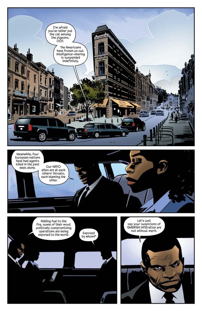 Dynamite® James Bond: Kill Chain #5 (Of 6)