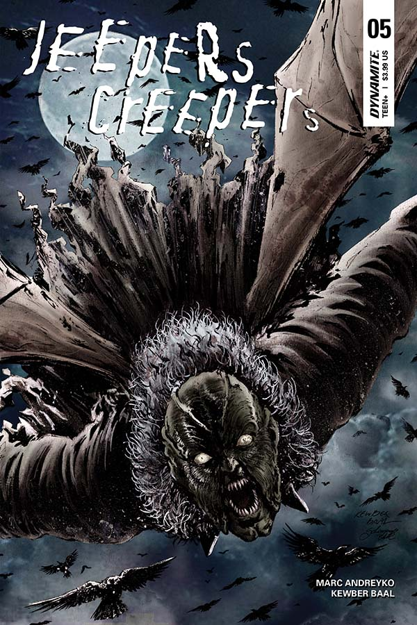 Kelley Black Book >> Dynamite® Jeepers Creepers #5