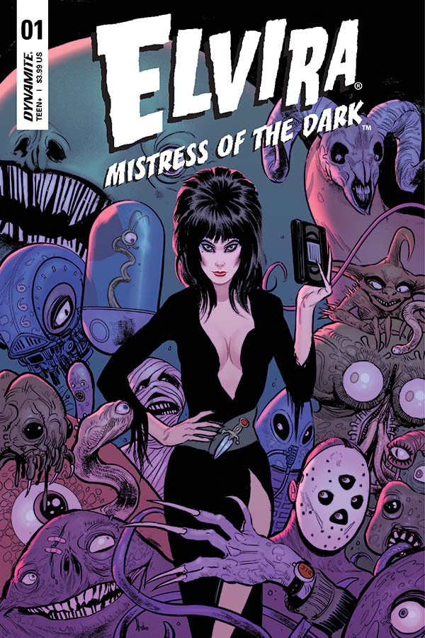 Dynamite 174 Elvira Mistress Of The Dark 1