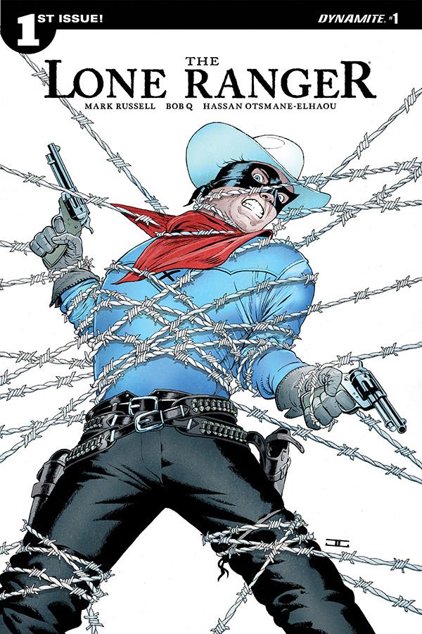The Lone Ranger Vol 3 #1 Cover C VF 2018 Dynamite Vault 35