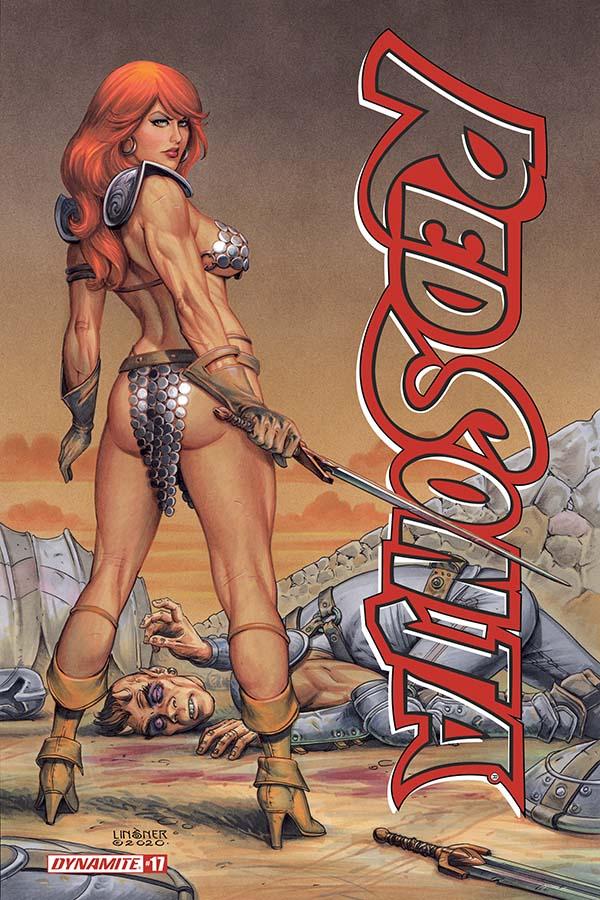 Red Sonja Vol 5 #17 Cover E VF 2020 Dynamite Vault 35
