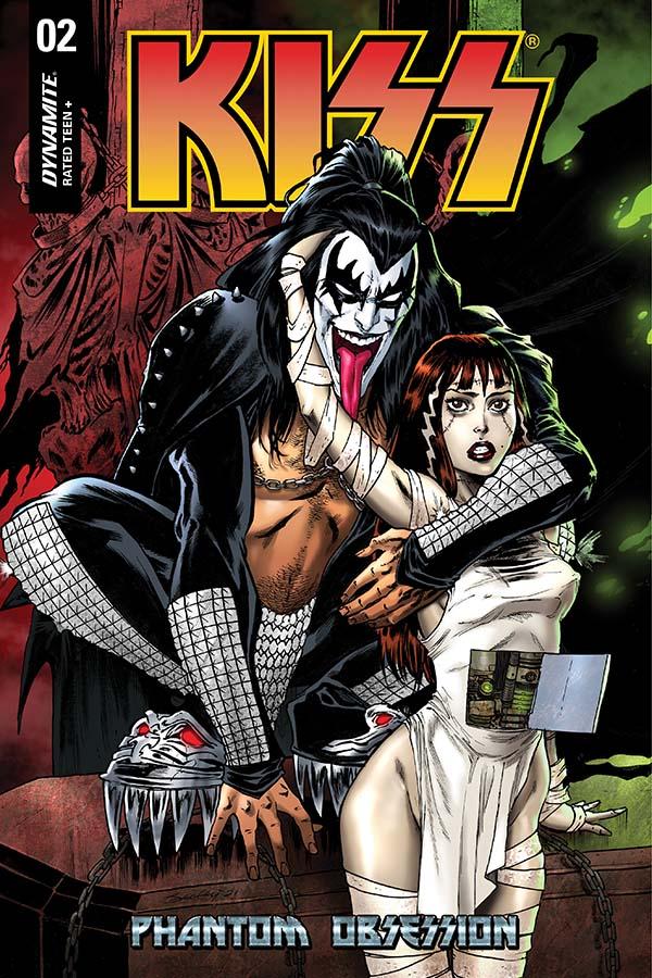 Dynamite® Kiss: Phantom Obsession #2